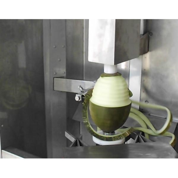 Машина для очистки от кожуры ананаса,  дыни,  арбузов,  тыквы 3